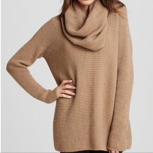 Vince Cashmere Cowl Neck Oversized Sweater
